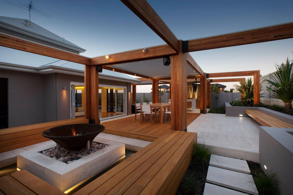 Instalaci n de tarima exterior madera teka - Tarimas de madera para exterior ...
